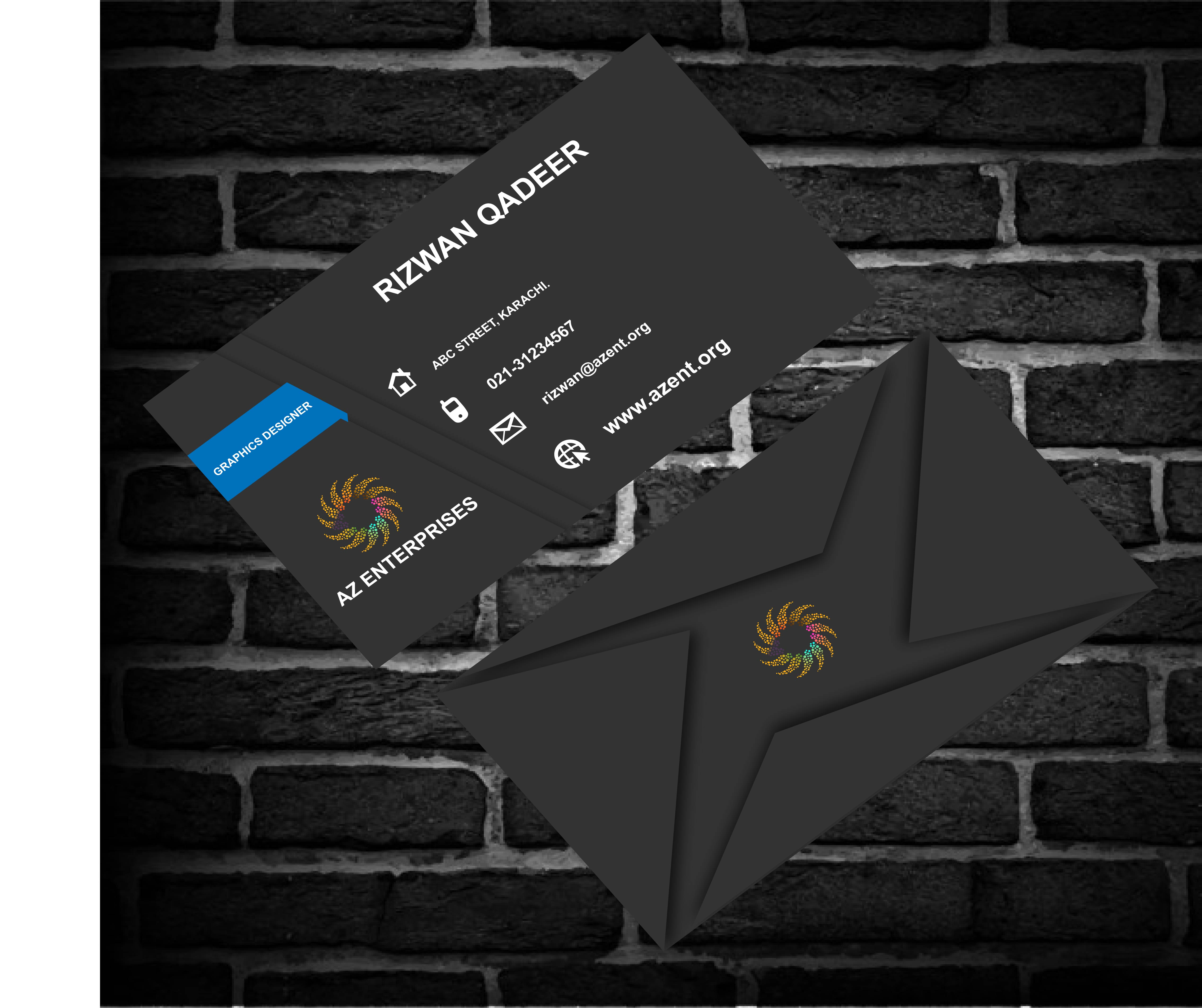 I'll design logo business cards flyers and brochures for you