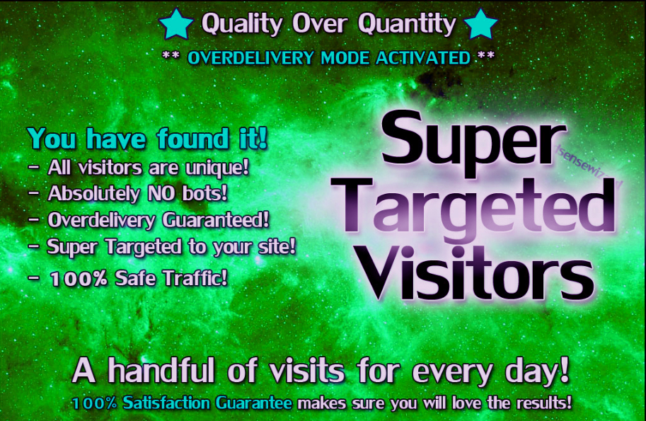 Deliver  125+ Super Targeted Traffic To Your Site Or Blog