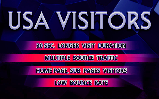 Drive 200 Daily Low Bounce USA Only Traffic For 30 Days