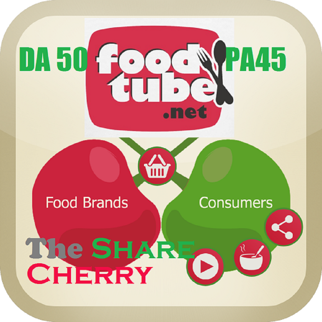 Write and Publish Health Food Blog on Thecherryshare and Foodtube.net