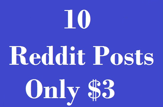10 Reddit Post To Your Link in Different Subreddit