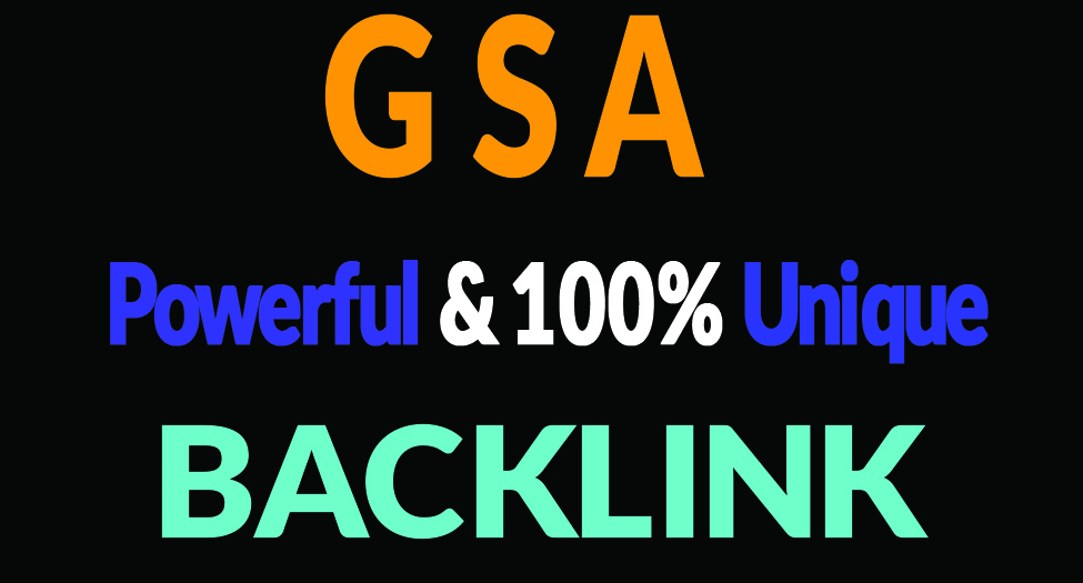 GSA SER SEO 400k Verified BACKLINK on google 1st page