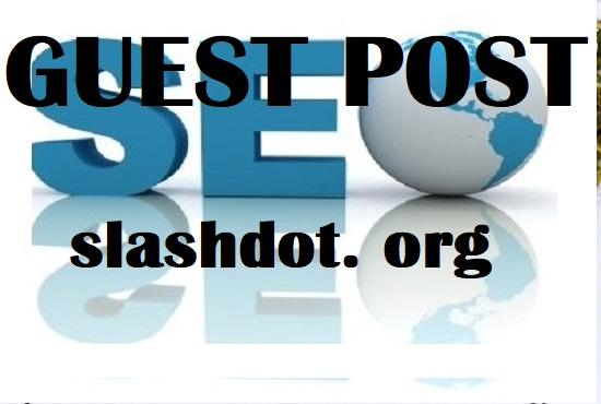 Happy new year offer - write and publish your article on slashdot. org With dofollow