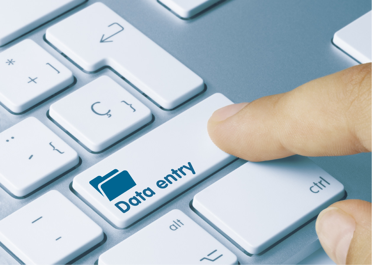 DATA ENTRY WORKS ON ONE DAY UP TO 10 PAGES (PAY)
