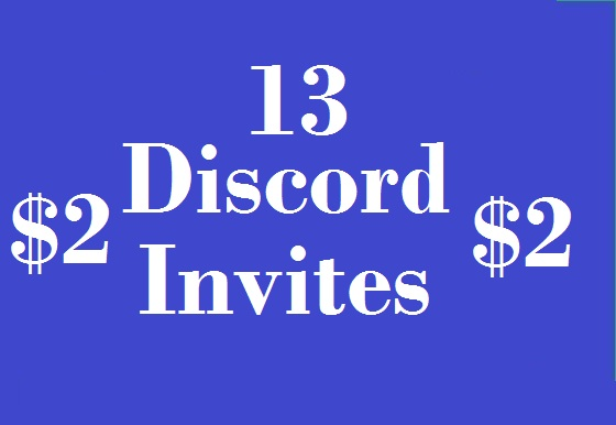 13 Discord invited promotion real user