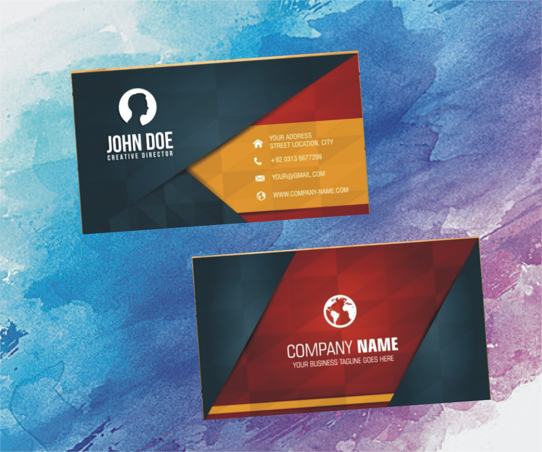 Design Stunning Corporate Business Card Design