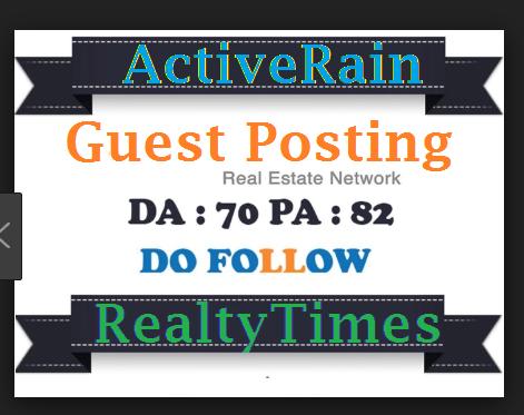 Publish guest post in Dofollow High Quality Blogs DA75+