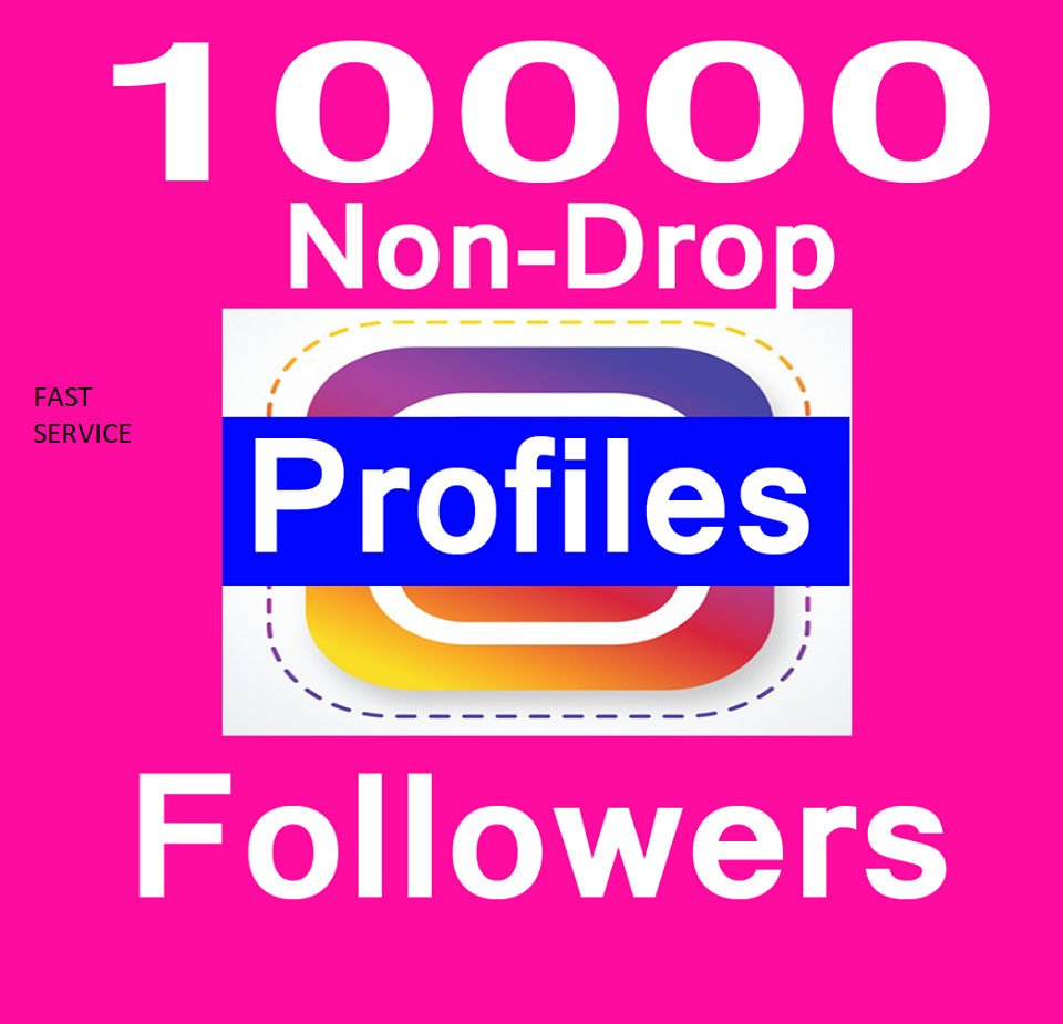 10000+ Social Media Profile Followers within 2-3 hours