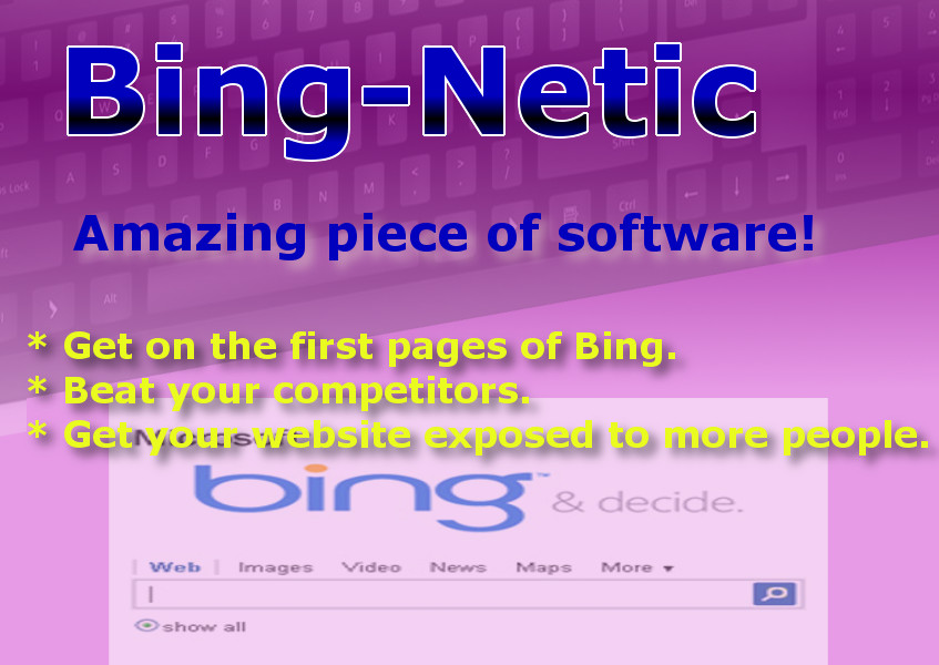 Dominate Bing Easily with this Magnificent SEO - software