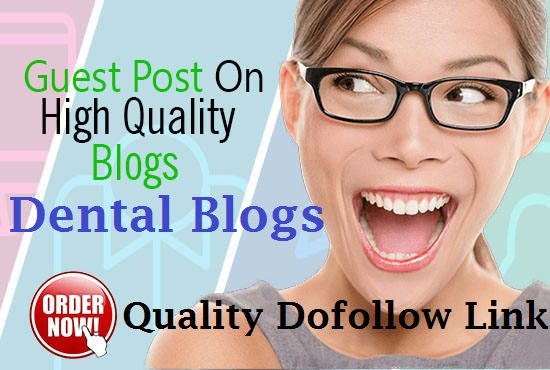Write and Post Article to Dental Blog DA30 for $25