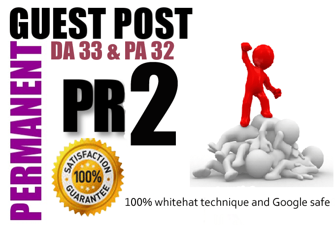 Publish Your Guest Post On My Website With DA32