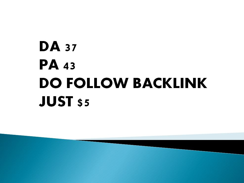 Boost your SEO with a Do follow backlink from DA 37 PA 43 website,  Monthly traffic 50k