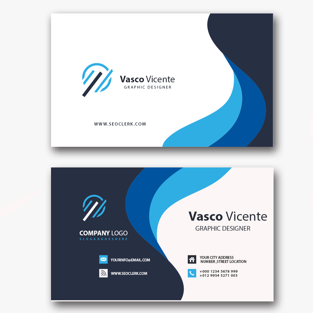 Design Business Card Professional and Unique