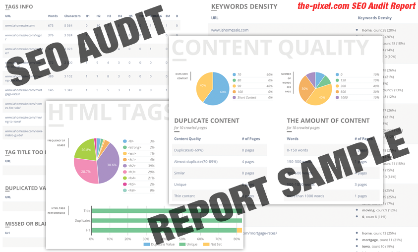 SEO Audit Report For Your Website According Latest Search Engine Updates