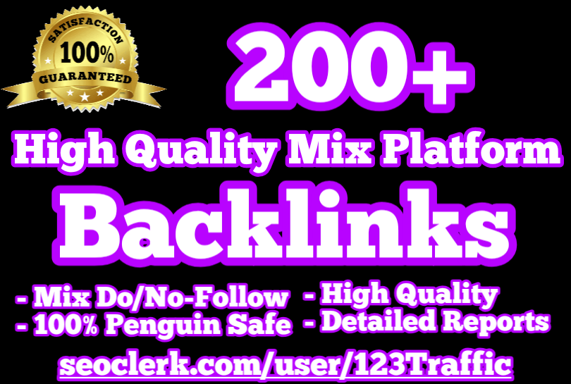 200+ HQ Mix Platform Backlinks