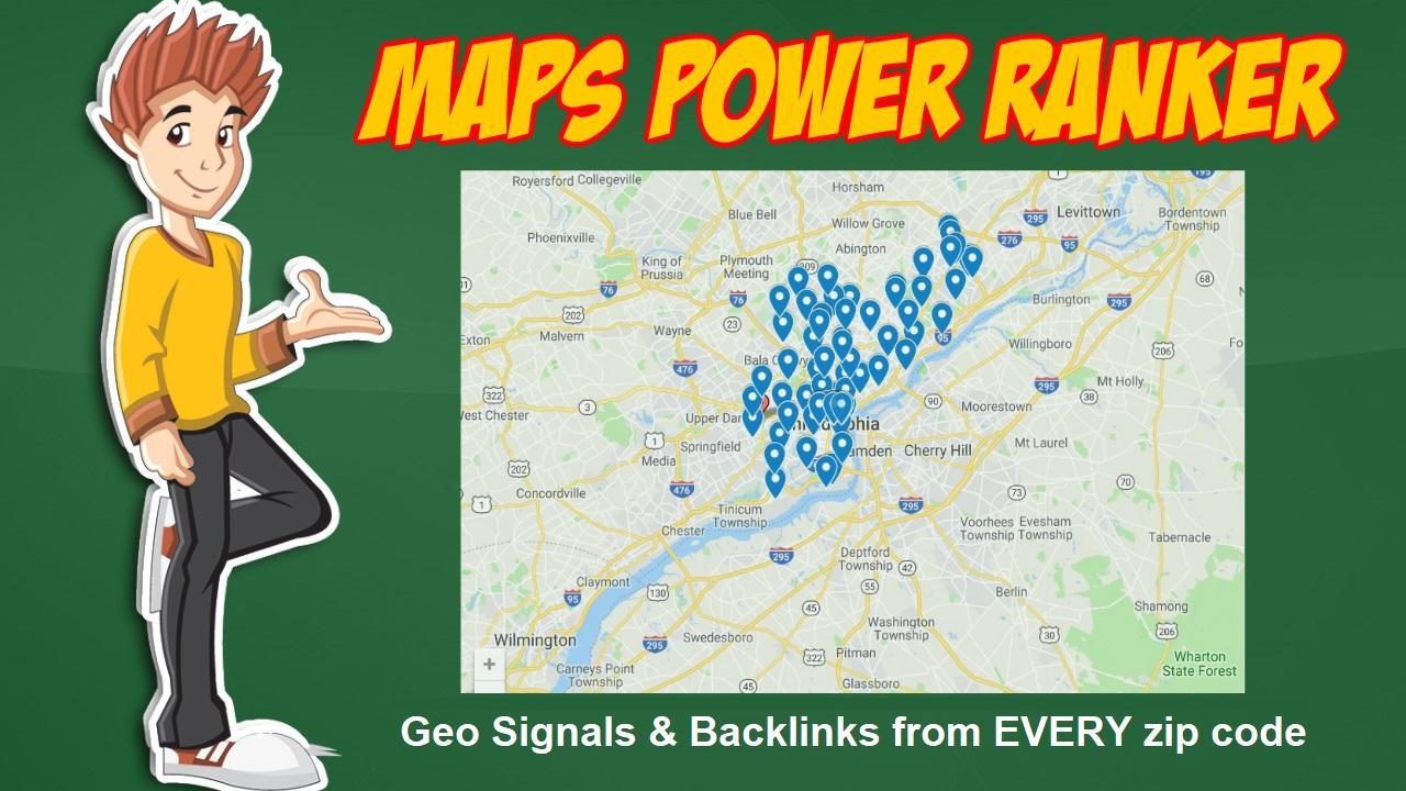 Google Maps Power Ranker