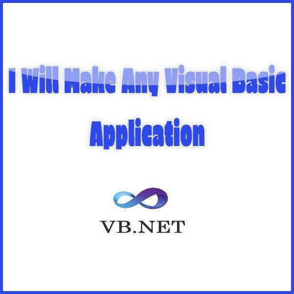 Create Any Visual Basic Application