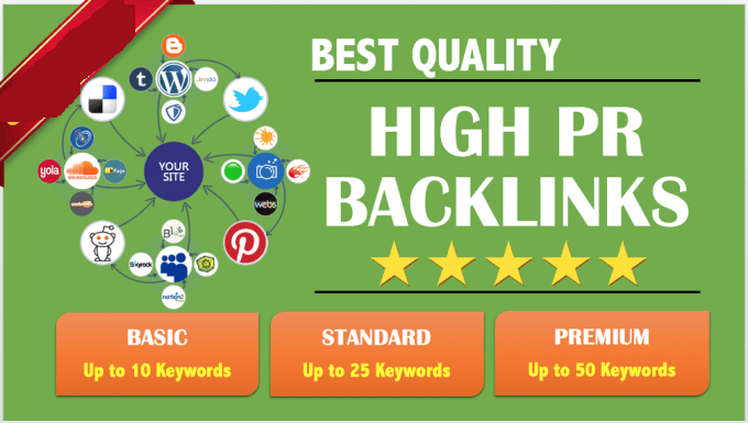 rank you on google with SEO high pr backlinks pyramid