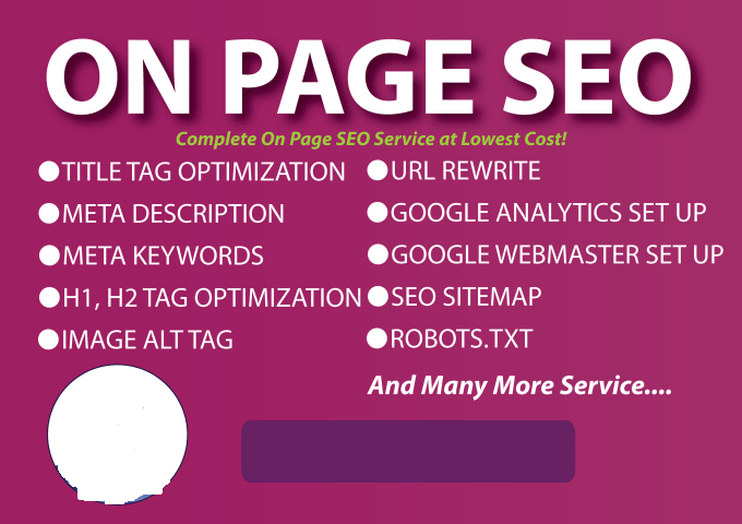 do onpage SEO to rank your website on google