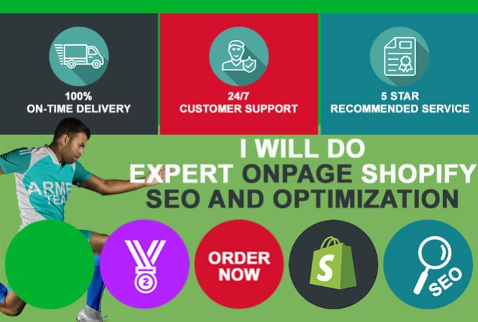 expert onpage shopify SEO and optimization