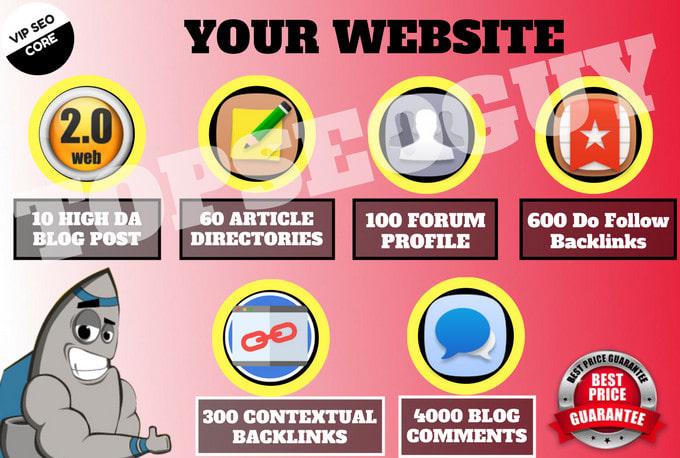 build 5000 ultra seo contextual backlinks for ranking