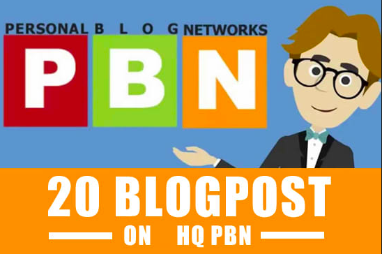 Premium 20 PBN Post Permanent - Write and Publish