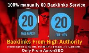 30 Pr9 + 25 Edu or Gov High PR SEO Authority Backlinks - Fire Your Google Ranking