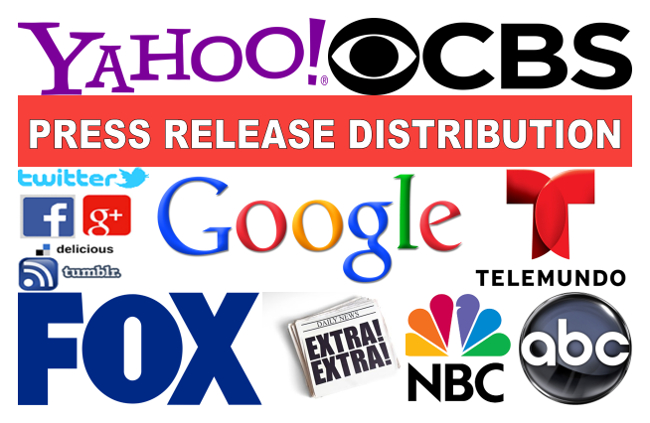 Will Create Press Release Distribution To Fox,  Cbs,  Abc,  And Nbc News