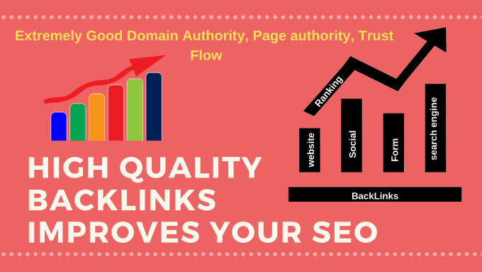250 unique domain high quality backlinks improves your SEO