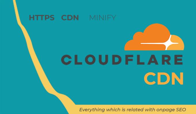 do on page seo cloudflare setup CDN setup and ssl setup