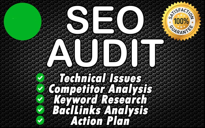 do complete SEO audit of your website