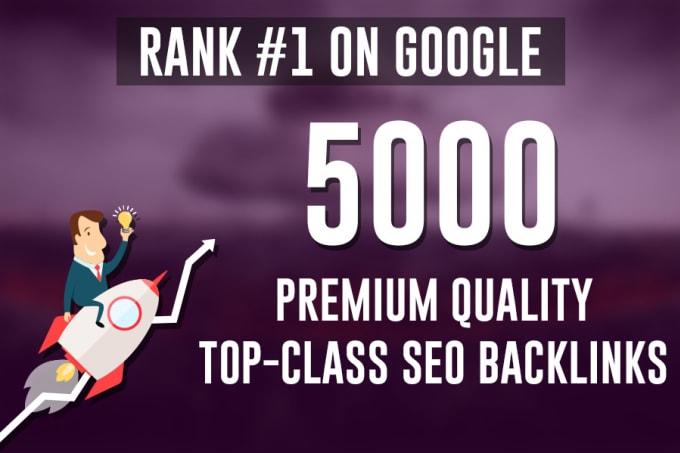 build premium quality contextual SEO backlinks