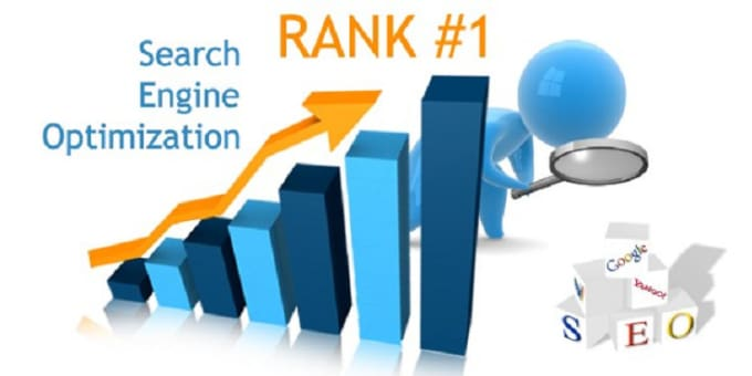 do SEO to rank your website,  first page of google