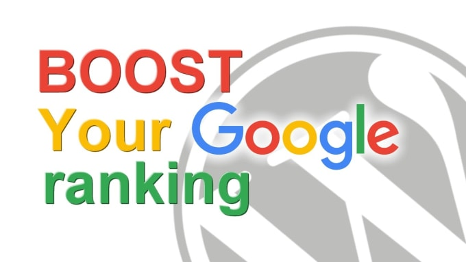 seo optimize your website for google top ranking