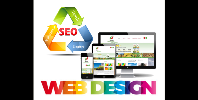 design website with 100 domains for SEO improvement