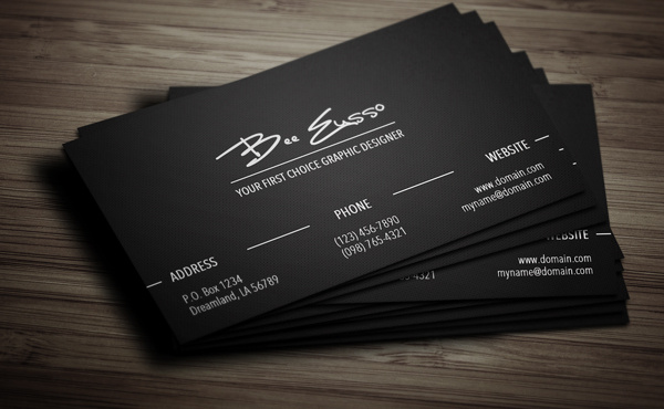 Be Your Personal Graphic Designer To Create An Elegant Sophisticated And Professional Business Cards