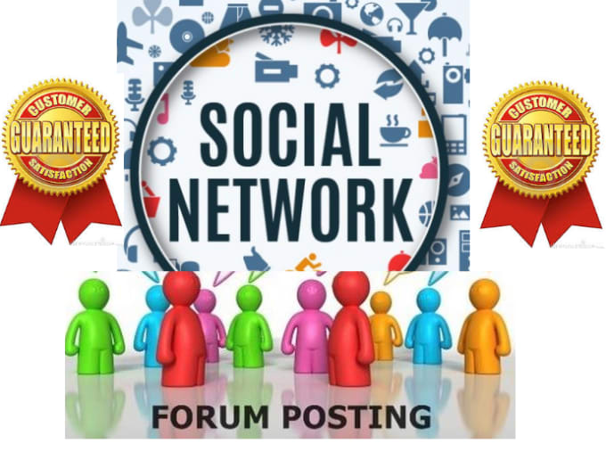 give you 500 SEO backlinks mix forum and social network