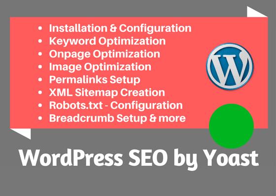 do on page SEO wordpress optimization by yoast