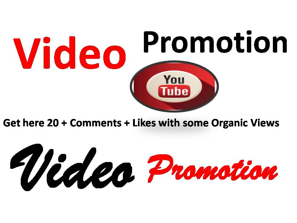 Best promotion of YouTube video with the best quality and fast delivery
