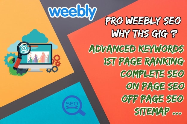 do weebly SEO with 1st page ranking guranteed