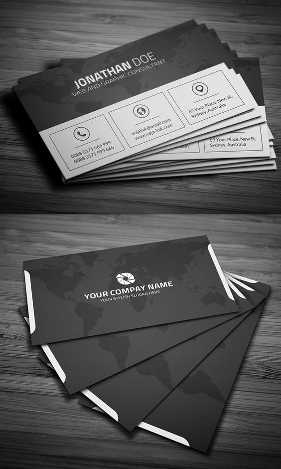 Design a High profile business Card for your company.