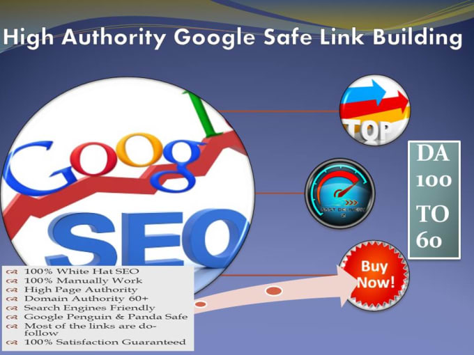 add 60 high authority backlinks, exclusive link building SEO