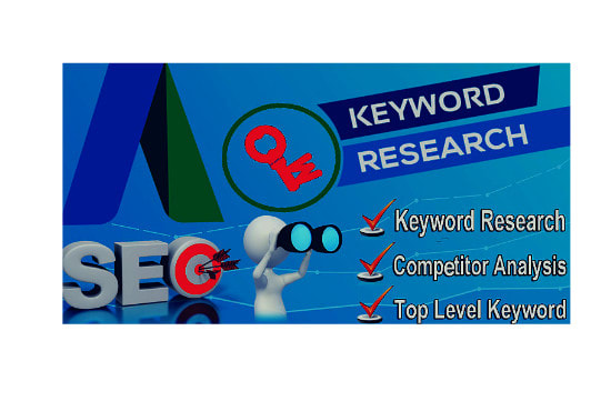 search effective SEO keyword and competitor analysis for you