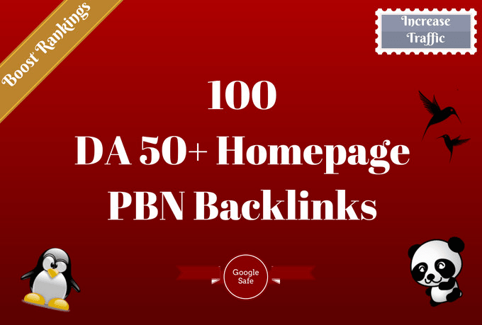 manually create 50 pbn links with high domain authority