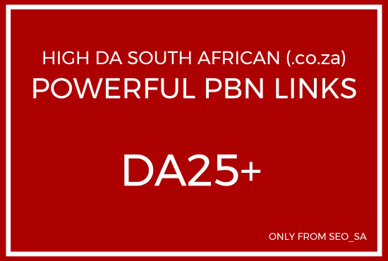 do manual high da pa south african pbn backlinks