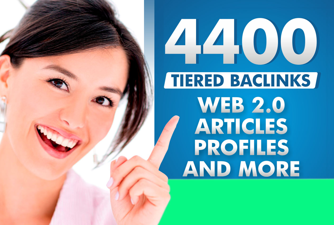 I Will Build 4400 Ultra Seo Contextual Backlinks Tiered