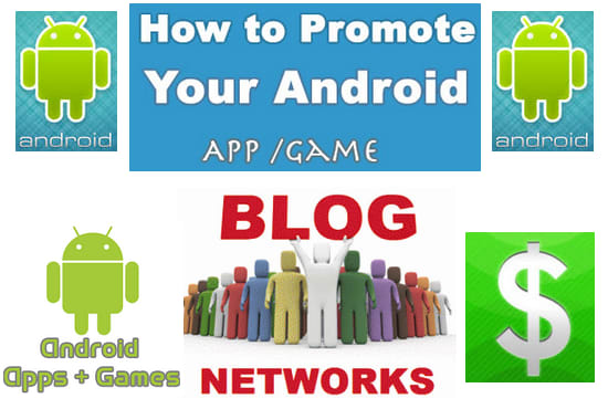 promote your android apps or game on my 20 pbn site
