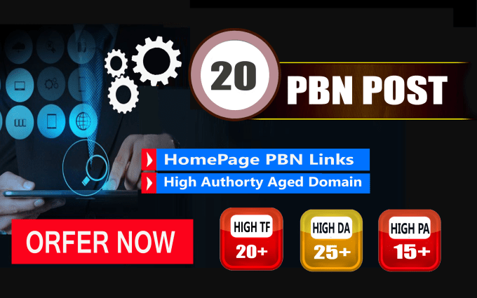 skyrocket your google rankings with 20 pbn posts backlinks
