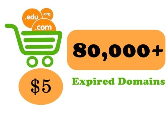 provide fresh list of 80,000 expired domains for strong pbn