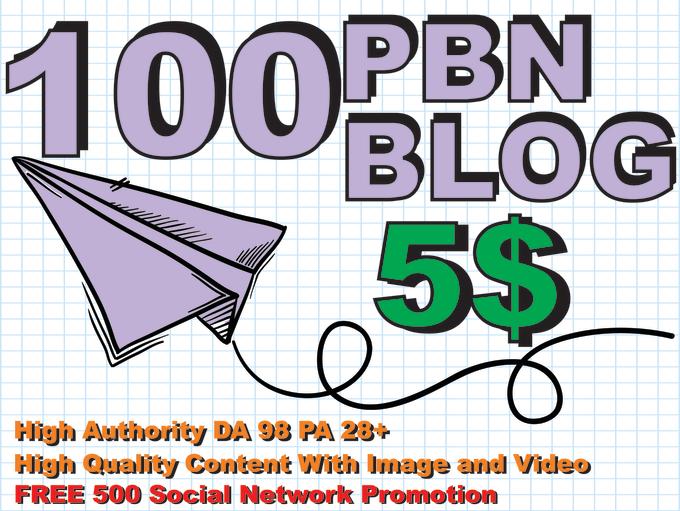 build seo pbn dofollow backlink post